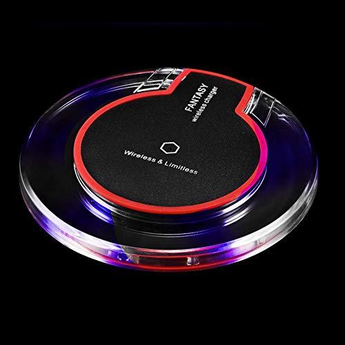 Base de carga inalámbrica con receptor para iPhone y Samsung