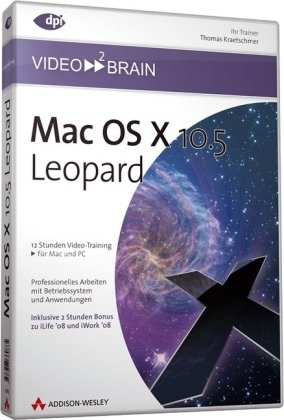 Mac OS X 10.5 Leopard - Video-Training (DVD-ROM) [import allemand]