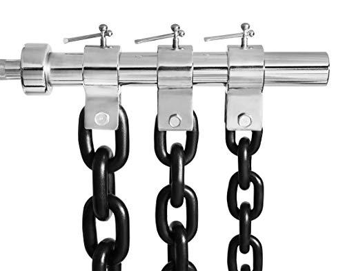 Bad Company Power-Chains inkl. Verschlüssen 50/51 mm I 2 x 16 kg Schwarze Variante