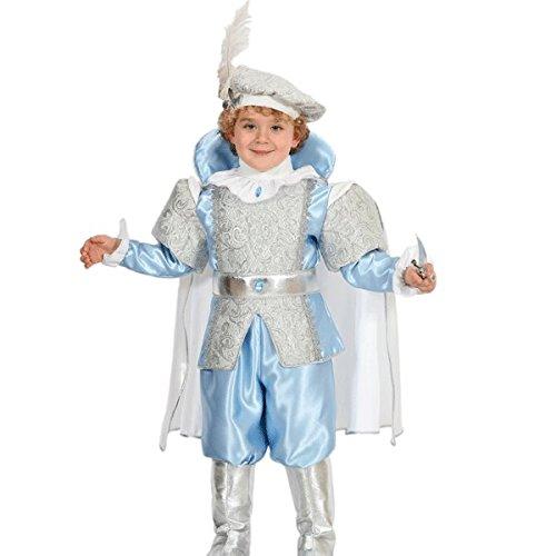 Pegasus Vestito Costume Maschera di Carnevale Baby - Principe Azzurro - Taglia 3/4 Anni - 78 cm