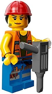 LEGO The Movie Gail The Construction Worker Minifigure Series 71004
