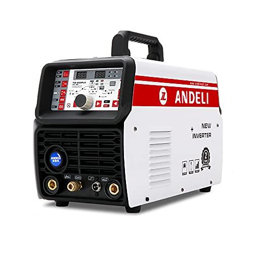 ANDELI 110V/220V 200AMP Aluminum Welding Machine...