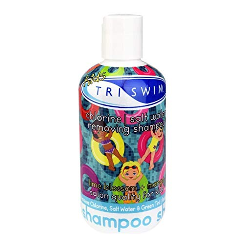 TRISWIM Kids Scented Shampoo After- Swimmer Hair Care, Chlorine Removal, Dandruff symptoms and Dry Scalp Relief