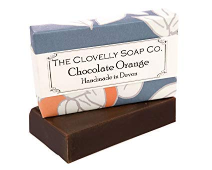 Clovelly Soap Co. Handgemachte Schokoladen & Orangen Naturseife für alle Hauttypen 100g