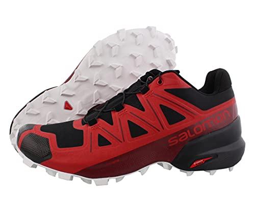 SALOMON - Speedcross 5-413086 - Colore: Rosso-Grafite - Taglia: 44 EU