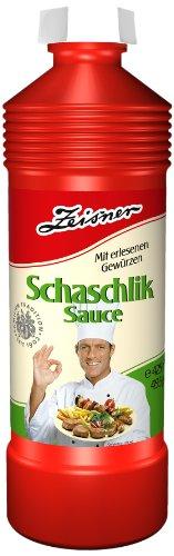 Zeisner Schaschlik-Sauce 425ml/495g Flasche, 12er Pack (12 x 425 ml)