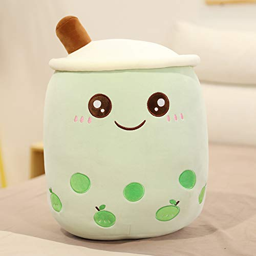 DMAIP Cute Plush Cartoon Pillow Cushion Props Fruit Milk Tea Kids Toys Birthday