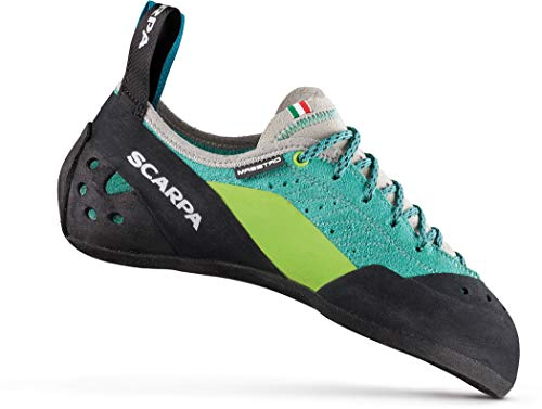 Scarpa Maestro ECO Kletterschuhe Damen Green Blue Schuhgröße EU 38 2020 Boulderschuhe