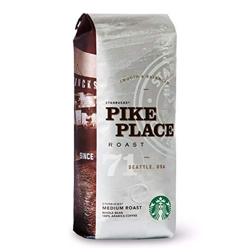 Starbucks® Pike Place® Roast - Medium Roast Whole Bean 100% Arabica Coffee