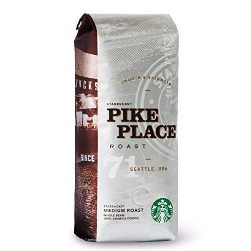 Starbucks® Pike Place® Roast - Medium Roast Whole Bean 100% Arabica Coffee