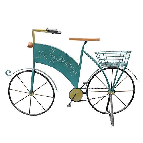 ZENGAI Estante De Maceta Maceteros Soporte Flores for Bicicl