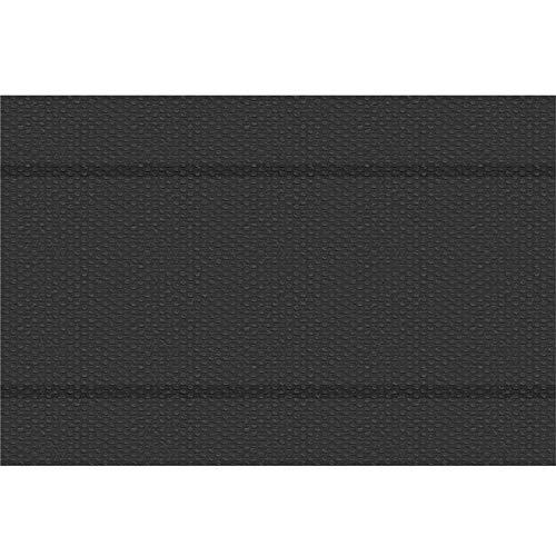 TecTake 800710 Pool Solarabdeckplane, schnellere Wassererwärmung & geringere Wasserverdunstung, rechteckig, schwarz - Diverse Größen - (4x6 m   Nr. 403098)