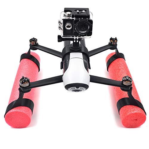 Goolsky Piezas de Agua sobre la Barra Flotante del Extensor de Patas de Agua para Parrot Bebop 2 RC Drone