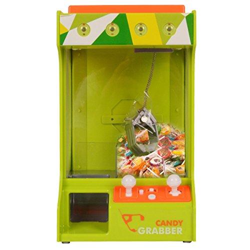 COSTWAY Süßigkeitenautomat Candy Grabber, Greifautomat Spielzeug Geschenk Kinder Spender Spielautomat (Süßigkeitenautomat / grün)