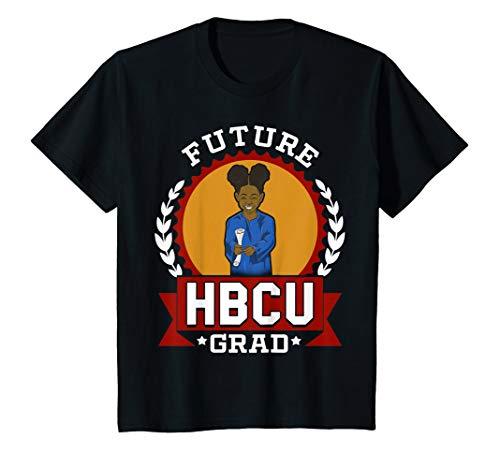 Kids HBCU Future Grad College T-shirt Gift for Girls