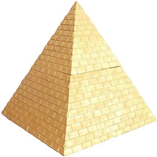 MARUA Pyramide des Alten Geöffneten Deckel Reinen Kupferpyramide Handwerk Handwerk Nach Chinesischen Schmuck Stil Büro Hause Dekoration Traditionellen