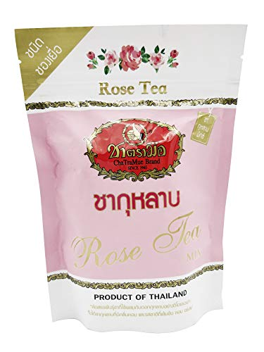Cha Tra Mue チャトラムー ローズティー バラ茶 薔薇茶 ハーブティー フレーバーティー 紅茶 お茶 ティーバッグ タイ製品 (ミックス)