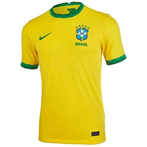 Nike 2020 2021 Brazil Home Shirt Kids