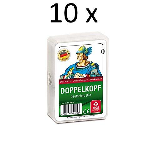 ASS Altenburger Spielkarten Doppelkopf Deutsches Bild (10 x)