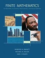 Finite Mathematics for Business, Economics, Life Sciences and Social Sciences: .