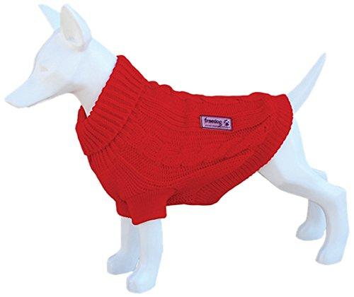 freedog Fd5000594 - wollen trui hond rood
