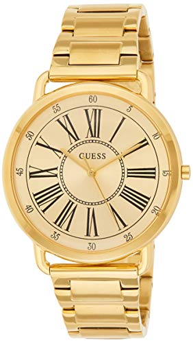 GUESS Reloj Analógico para Mujer de Cuarzo con Correa en Acero Inoxidable W1149L2