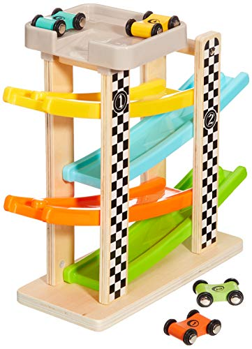 Andreu Toys tb15414 Craft driewieler houten racing track speelgoed, 30 x 10 x 27 cm