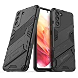 LOLFZ Case for Samsung Galaxy S21 5G, Armor Case with Stand