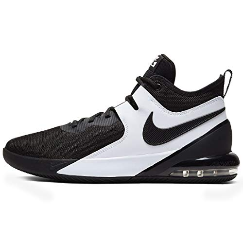 Nike Herren AIR MAX Impact Basketballschuh, Black Black White, 40 EU