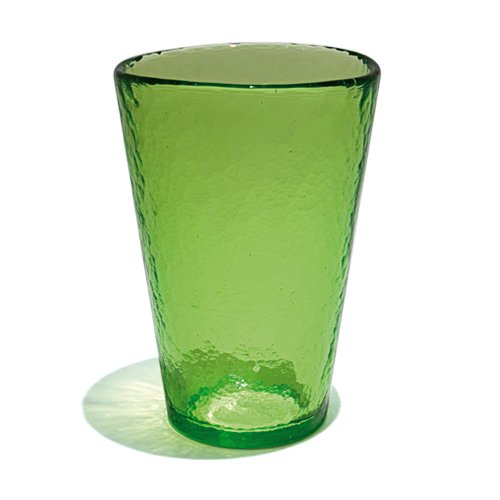 YALOS Murano Collection Happy Drink Bicchieri Bibita Happy Fruit Bicchieri Long Drink ø mm. 92 x mm. 134 Bibita Verde Vetro di Murano Made in Italy