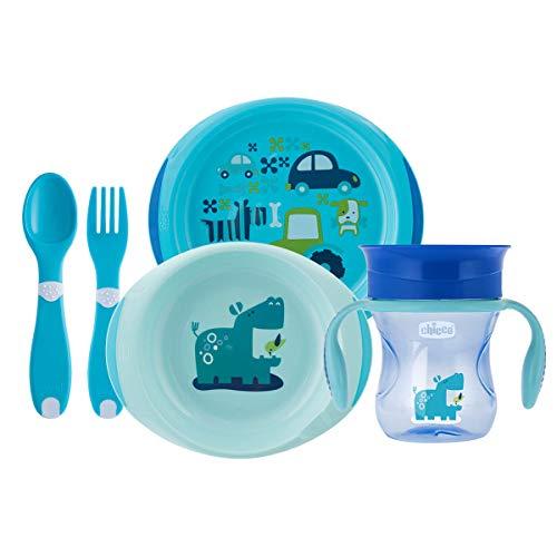 Chicco 00016201200000 Geschenkset, 12M+, Light blau