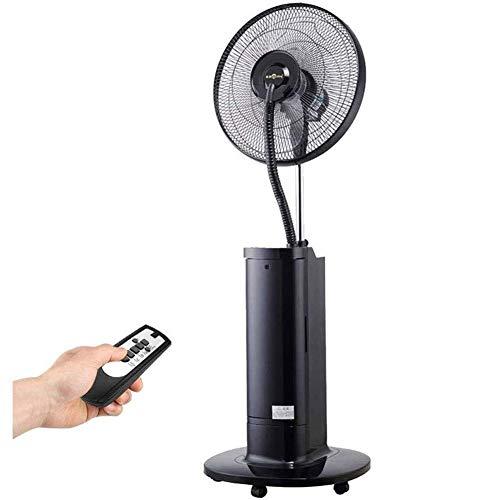 Ventilador eléctrico con Agua Control Remoto Inteligente Spray Ventilador de Piso para el hogar Operación silenciosa Humidificación