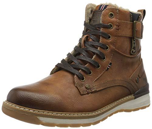 MUSTANG Herren 4141-601-307 Klassische Stiefel, Braun (Cognac 307), 45 EU