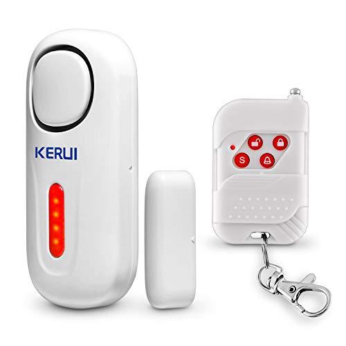 KERUI D2 Alarma de Puerta y Ventana inalámbrico con 120 dB