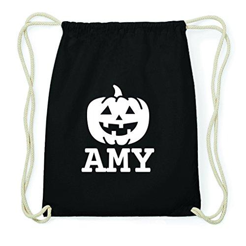 JOllify Turnbeutel Halloween für Amy - Kürbis
