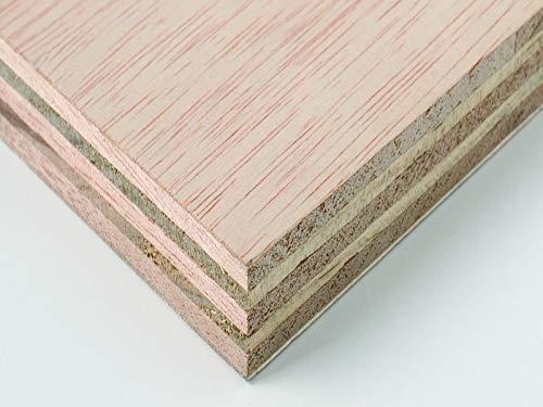 Packs de Tableros de Madera Contrachapado Chopo rosado de 4MM de Grosor, Soporte para Manualidades, Decoración, Láser, CNC, Pirograbado, Pintura (A0 (2 ud, 1189x841mm))
