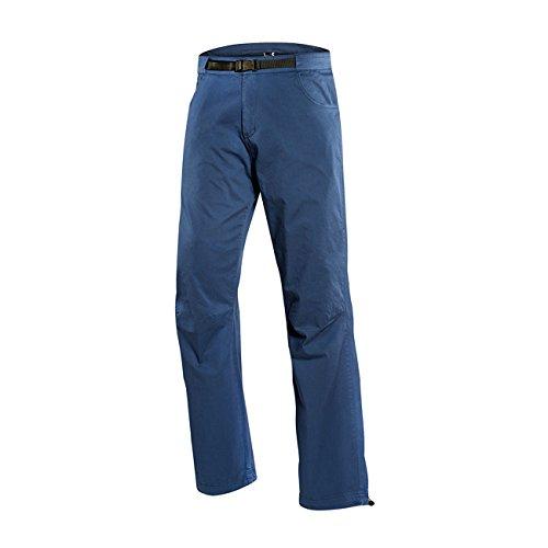 Pantalones para escalar resistentes, color azul oscuro, tamaño medium