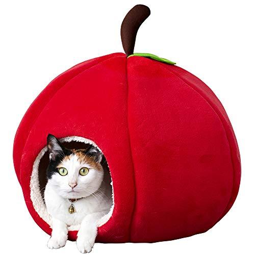 アイリスオーヤマ キャラクター ペットベッド りんご