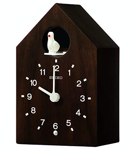 Seiko QXH070B - Reloj de Mesa (Madera), diseño de Cuco