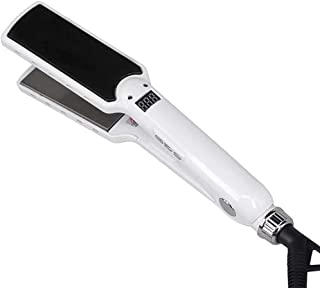 Hair Straightener 50-243℃ Temperature Regulating Curling Iron 60 Minutes Automatic Shutdown Hair Straightener-Black Hair S...