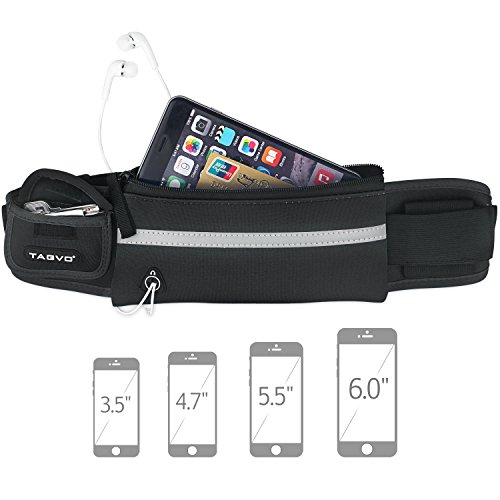 TAGVO Running Waist Pack, with Elastic Strap Suitable for All Women...