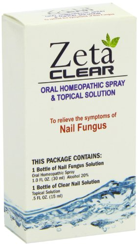 Zetaclear Nail Fungus Formula 2 Spray Bottles Zeta Clear Buy