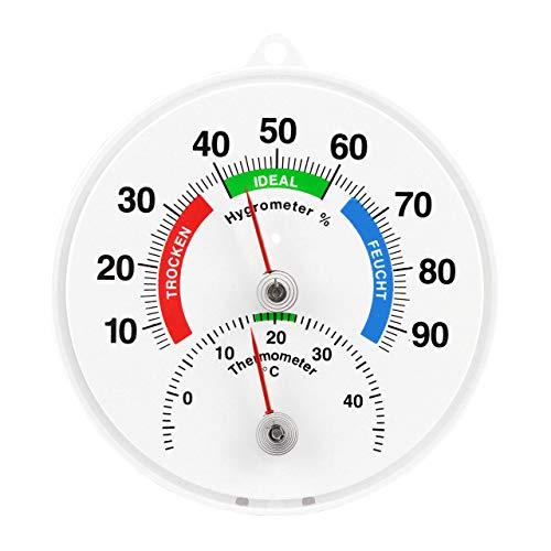 Lantelme Thermometer Hygrometer Kombigerät Analog Deutsche Herstellung Temperatur Luftfeuchte 4115