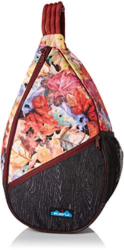 KAVU Damen Paxton Pack Outdoor Rucksäcke One Size Leaf Me Be