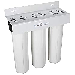 Home Master Whole House Three Stage Water Filtration System with Fine Sediment