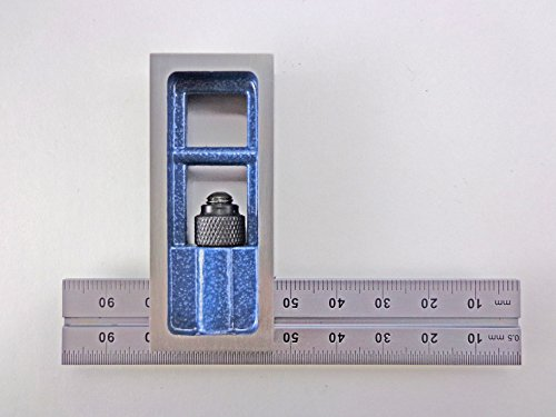 PEC Tools Metric 100 mm Double Machinist Square accurate +/- 0.001