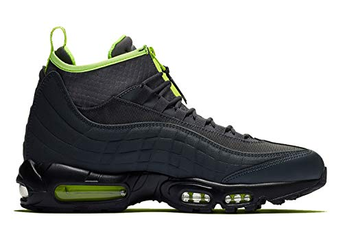 Price comparison product image Nike Mens Air Max 95 Sneakerboot Anthracite / Volt / Dark Grey-Black 806809-003 Size 9
