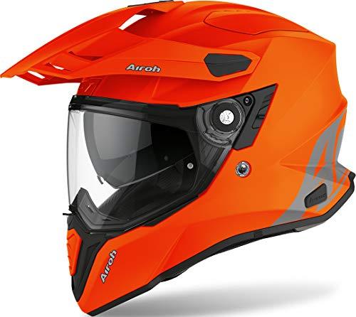 Casco de comandante color naranja