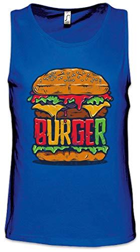 Urban Backwoods Burger Heren Tank Top Training Gym Shirt