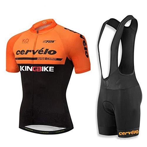 Maillot de ciclismo para hombre, manga corta, ropa de ciclismo de verano,...